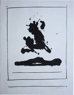 Untitled (Beside the Sea, From New York International Portfolio) 1966 Limited Edition Print - Robert Motherwell