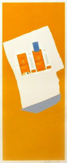 Harvest With Blue Bottom (Summer Light Series) 1973 Limited Edition Print - Robert Motherwell