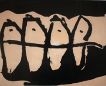 Wanderers AP 1985 Limited Edition Print - Robert Motherwell