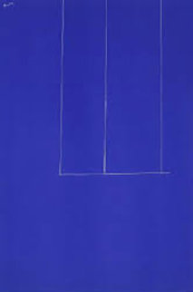 London Series Blue Limited Edition Print - Robert Motherwell