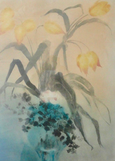 Les Tulips 1980 Limited Edition Print by Kaiko Moti