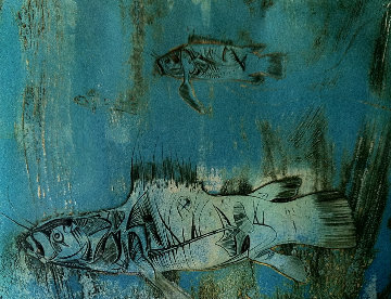 Coelacanthes AP Limited Edition Print - Kaiko Moti