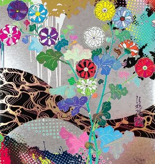 Pure White 2016 Limited Edition Print - Takashi Murakami