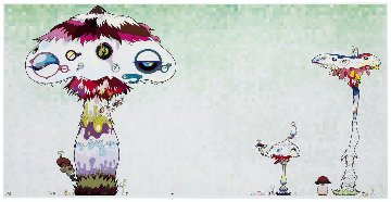 Hypha Will Cover the World Limited Edition Print - Takashi Murakami