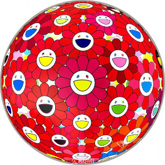 Flower Ball (Thinking Matter) 2017 Limited Edition Print - Takashi Murakami