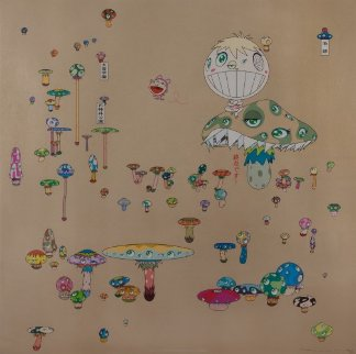 Making a U Turn, the Lost Child Finds His Way Home 2005 Limited Edition Print - Takashi Murakami