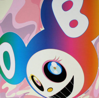 And Then Rainbow 2006 Limited Edition Print - Takashi Murakami