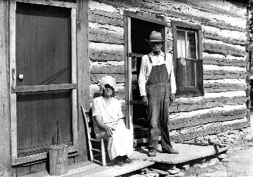 Sharecropper Couple  Limited Edition Print - Carl Mydans