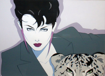 Cheetah PP 1982 Limited Edition Print - Patrick Nagel