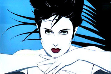 Palm Springs Life Limited Edition Print - Patrick Nagel
