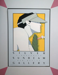 Silver Sunbeam 1979 Limited Edition Print - Patrick Nagel