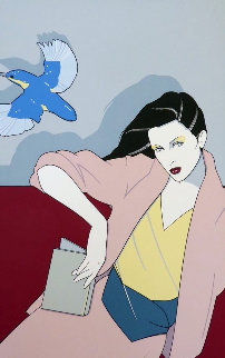 Piedmont Book Company 1979 Limited Edition Print - Patrick Nagel