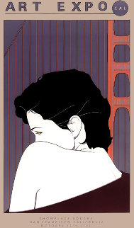 Art Expo Showplace San Francisco Poster  1983 HS Limited Edition Print - Patrick Nagel