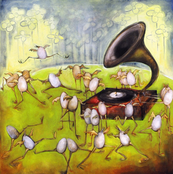 Ballet of the unhatched chicks ap by natasha turovsky for Best way to sell your art online
