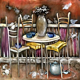 Five-O-Clock Tea AP 2000 Limited Edition Print - Natasha Turovsky