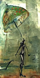 Green Umbrella AP 2003 Limited Edition Print - Natasha Turovsky