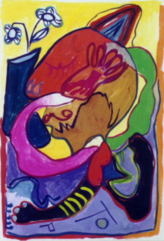 Shy 1994 (very early work) 27x17