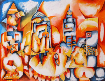 Skyline 1997 Limited Edition Print - Alexandra Nechita
