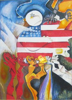 Peace Collector 1998 Limited Edition Print - Alexandra Nechita