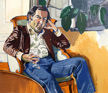 Accountant (Marvin)  Limited Edition Print - Alice Neel