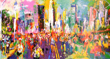 New York Marathon 1980 Limited Edition Print - LeRoy Neiman