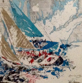 America's Cup, 19th Challenger 1964 HS Limited Edition Print - LeRoy Neiman