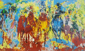 Stretch Stampede 1979 Limited Edition Print - LeRoy Neiman