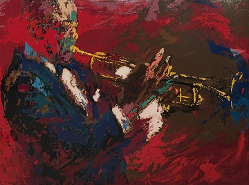 Satchmo Louis Armstrong 1976 Limited Edition Print - LeRoy Neiman