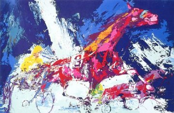Trotters 1973 Limited Edition Print - LeRoy Neiman