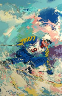 Stenmark 1980  Limited Edition Print - LeRoy Neiman