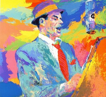 Frank Sinatra Duets  1994 Limited Edition Print - LeRoy Neiman
