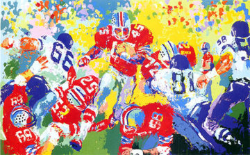 Archie Griffin AP 1973 Limited Edition Print - LeRoy Neiman