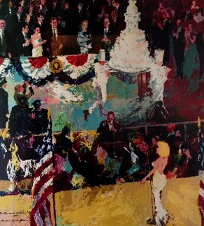 Happy Birthday Mr. President 1962 Madison Square Garden AP 1986 Limited Edition Print - LeRoy Neiman