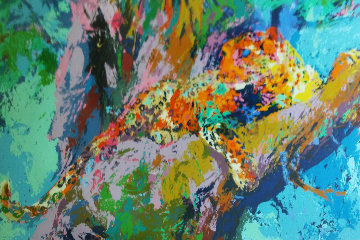 Leopard 1972 Limited Edition Print - LeRoy Neiman