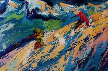 Downers 1970 Limited Edition Print - LeRoy Neiman