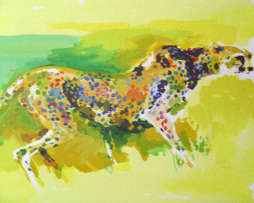 Cheetah 1997 Limited Edition Print - LeRoy Neiman