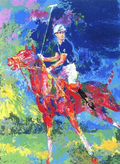 Prince Charles at Windsor 1982 Limited Edition Print - LeRoy Neiman