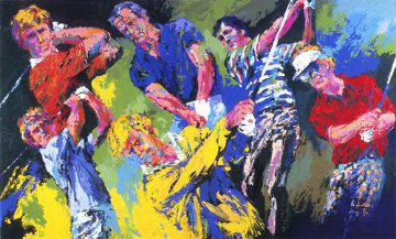 Golf Winners 1984 Limited Edition Print - LeRoy Neiman