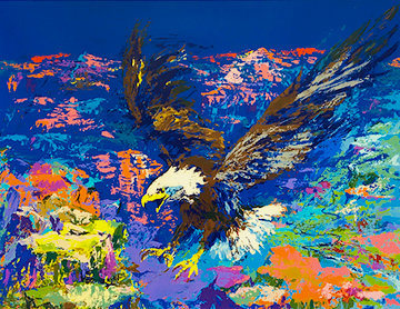 American Bald Eagle AP 1979 Limited Edition Print - LeRoy Neiman