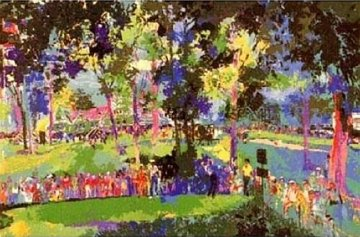 US Open 12th At Oakmont 1983 Limited Edition Print - LeRoy Neiman