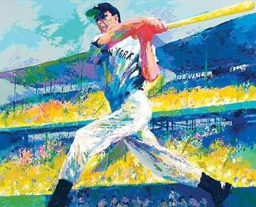 Dimaggio Cut AP 1998 HS By Joe Limited Edition Print - LeRoy Neiman