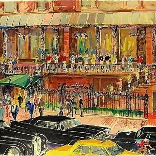 21 Club AP 1990 Limited Edition Print - LeRoy Neiman