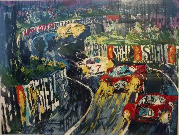24 Hours At Lemans HC 1987 Limited Edition Print - LeRoy Neiman