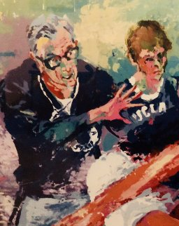 Coach Wooden 1985  Limited Edition Print - LeRoy Neiman