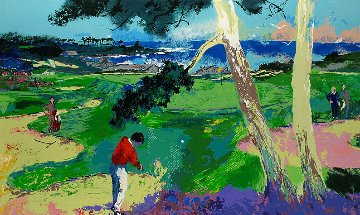 First At Spyglass 1993 Limited Edition Print - LeRoy Neiman