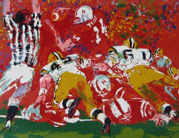 National Champions AP 1974 Limited Edition Print - LeRoy Neiman