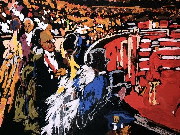 International Horse Show, New York AP 2007  Limited Edition Print - LeRoy Neiman