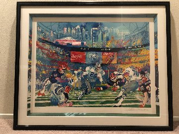 Super Bowl XVIII: Georgia Dome AP 1994 Limited Edition Print - LeRoy Neiman
