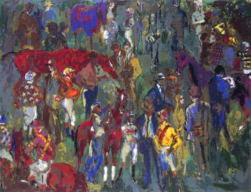 Before the Race 1981 Limited Edition Print - LeRoy Neiman