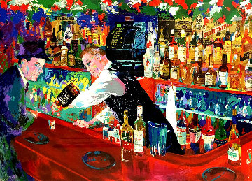 Frank At Rao\'s 2005 Limited Edition Print - LeRoy Neiman